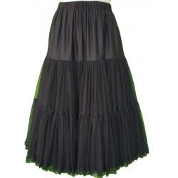 Almsach - Petticoat aus Tüll in schwarz - 70 cm