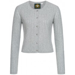 "Strickjacke ""Reith""  in grau von Hammerschmid"