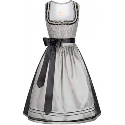 "Dirndl ""Skylla"" von Krüger Collection in grau - 70 cm"