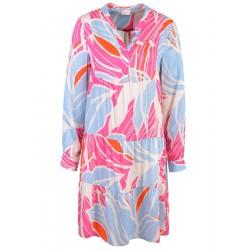 Kleid in Pink Print von Milano Italy