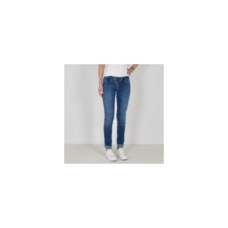 "Jeans ""Malibu"" mid blue in Stretch Denim von Buena Vista"