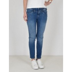 """Jeans """"Florida 7/8"""" Mid Blue in Stretch Denim von Buena Vista"""