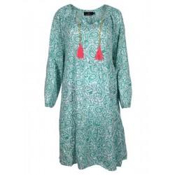 """Kleid """"Luna"""" in smaragd von Zwillingsherz"""