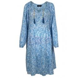 """Kleid """"Luna"""" in blau von Zwillingsherz"""